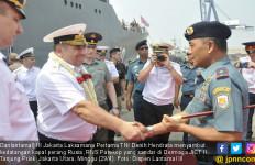 Danlantamal III Jakarta Sambut Kedatangan Kapal Perang Rusia - JPNN.com