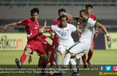 Laga Indonesia vs Korut Berakhir Imbang Tanpa Gol - JPNN.com