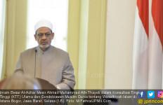 Ucapan Selamat Natal dari Imam Besar Al Azhar untuk Paus Fransiskus - JPNN.com