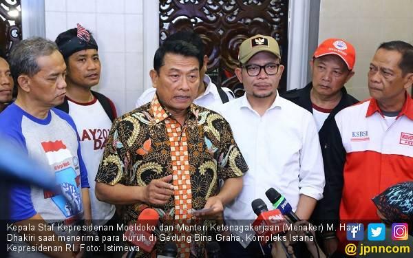 Optimisme Moeldoko Tanggapi Pesimisme Prabowo - JPNN.com