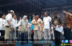 Disambut Ribuan Buruh, Prabowo Mengaku Merinding - JPNN.com