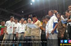 Prabowo Sudah Tebar Janji di Hadapan Ribuan Buruh - JPNN.com