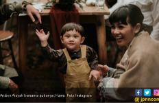 Andien Berbagi Cerita Kehamilannya Lewat Buku - JPNN.com