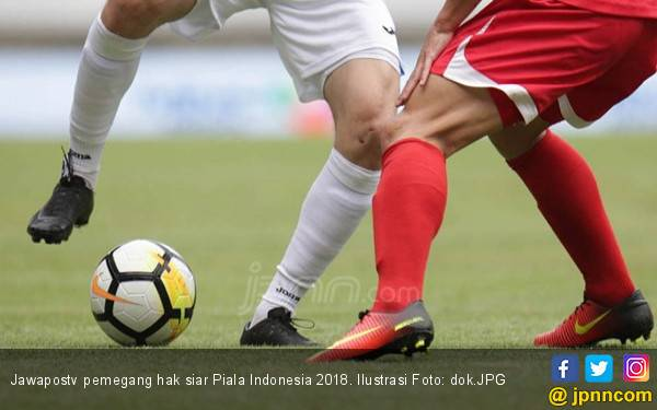158 Pertandingan Piala Indonesia 2018 Live di Jawapostv - JPNN.com