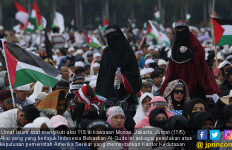 Massa Aksi 115 Sempatkan Berorasi di Depan Kedubes - JPNN.com