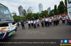 Wahana Honda Fasilitasi 25 Bus dalam Mudik Gratis 2018 - JPNN.com