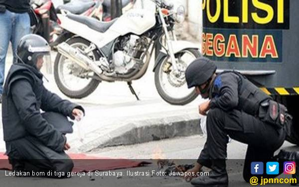 Berita Terbaru Bom di Surabaya: Pelaku Tiga Perempuan - JPNN.com