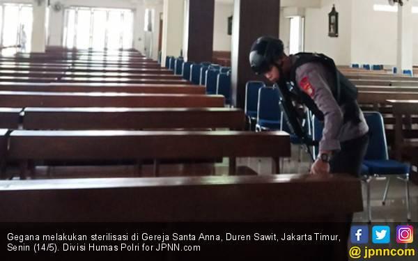 Ancaman Bom di Gereja Santa Anna Duren Sawit Hoaks - JPNN.com