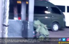 Tas Penabrak Pagar Mabes TNI AD Diperiksa Penjinak Bom - JPNN.com