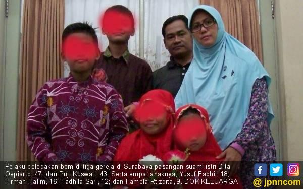 Sehari Sebelum Bom Bunuh Diri, Putra Dita Oeprianto Menangis - JPNN.com