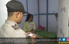 Tiga Pasangan Kepergok di Kamar Kos, Jangan Diulang ya - JPNN.com