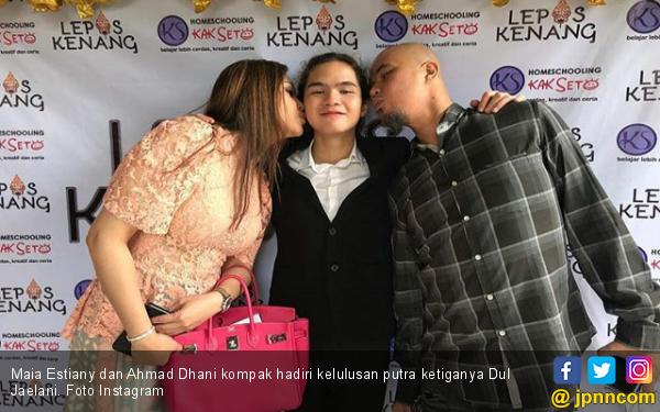 Pesan Maia Estianty untuk Ahmad Dhani, Jangan Stres - JPNN.com
