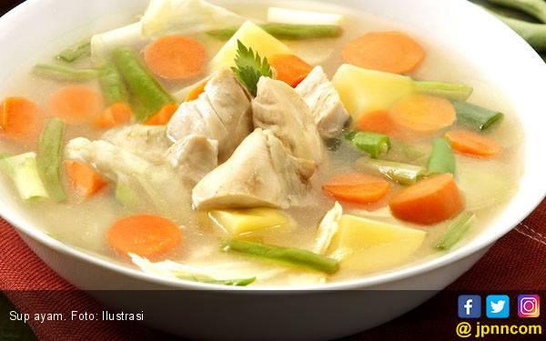 Cegah Wajah Keriput dengan Konsumsi Sup Ayam Berkolagen - JPNN.com