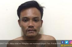 Sakit Hati Cinta Ditolak Istri Tetangga, Adi Berbuat Nekat - JPNN.com
