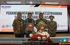 Perum Jamkrindo dan Semen Baturaja Jalin Kerja Sama - JPNN.com