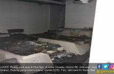 Ruang Cucian Terbakar, Panti Pijat Ludes - JPNN.com