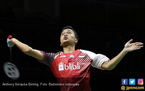 Ginting Butuh 42 Menit Tembus 8 Besar Singapore Open 2019 - JPNN.com