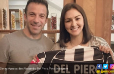 Donna Agnesia Semringah Kembali Temani Del Piero di Medan - JPNN.com
