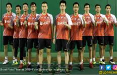 Piala Thomas 2018: Ini Susunan Pemain Indonesia vs Kanada - JPNN.com