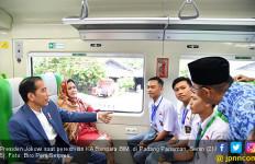 Kereta Bandara Ketiga Diresmikan Jokowi - JPNN.com