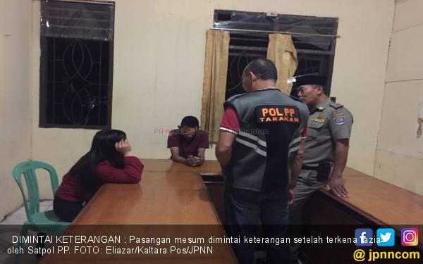 Diduga Hendak Mesum, 12 Pasangan Muda - Mudi Diamankan - JPNN.com