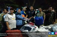 Dinsos DKI Amankan Kebutuhan Korban Kebakaran Pondok Bambu - JPNN.com