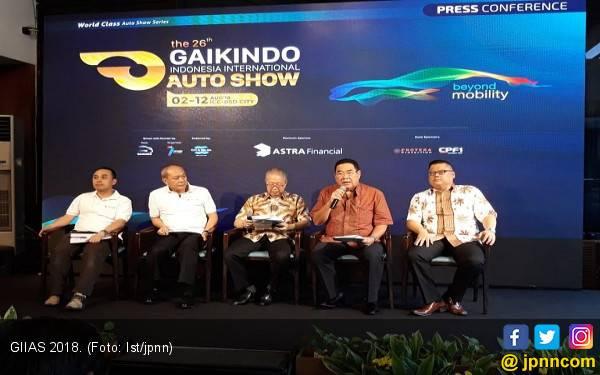GIIAS 2018 Dibanjiri Puluhan Brand Otomotif - JPNN.com