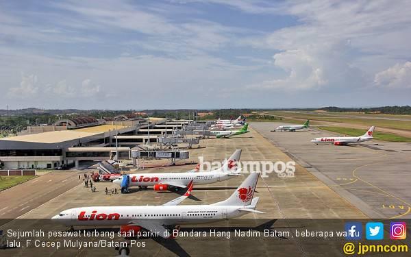 Harga Tiket Pesawat Selangit, PNBP BP Batam dari Bandara Hang Nadim Menurun - JPNN.com