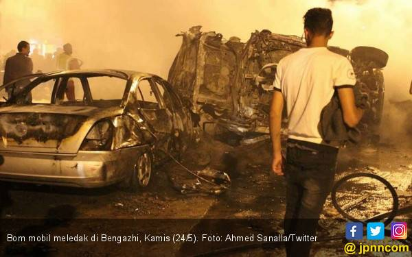 Bom Mobil Bunuh Tiga Staf PBB Jelang Iduladha - JPNN.com