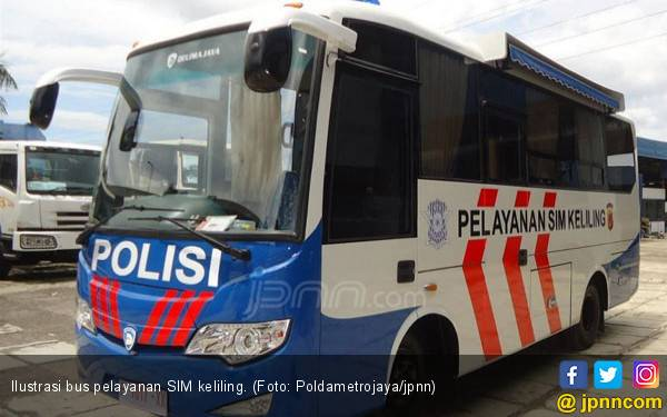 Berikut Lokasi Layanan SIM Keliling Wilayah DKI Jakarta Jumat - JPNN.com