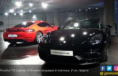 Porsche 718 Cayman Versi Buas Mengaspal di Indonesia - JPNN.com