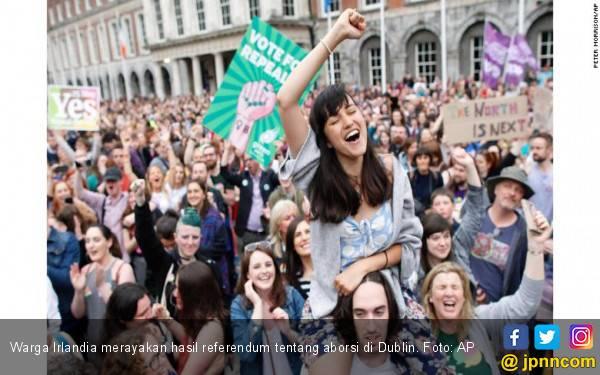Mayoritas Warga Irlandia Dukung Aborsi - JPNN.com