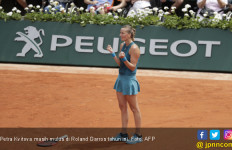 Kvitova Mulus, Venus Angkat Kaki dari Roland Garros - JPNN.com