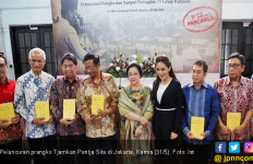 73 Tahun Pancasila, PT Pos Rilis Prangko Tjamkan Pantja Sila - JPNN.com
