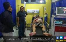 Katon Bersimbah Darah di Dalam Mobil, Heboh! - JPNN.com