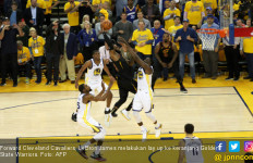 Lewat Overtime, Warriors Atasi Cavaliers di Game 1 Final NBA - JPNN.com