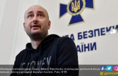 Diincar Pembunuh Bayaran Rusia, Wartawan Pura-Pura Mati - JPNN.com