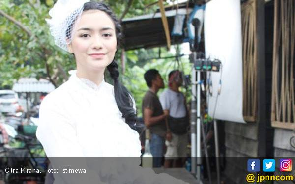 Citra Kirana Merasa Terbebani Main Film Nagabonar Reborn - JPNN.com