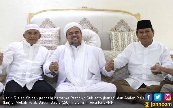 Habib Rizieq Akui Jokowi Berprestasi, Tapi... - JPNN.com