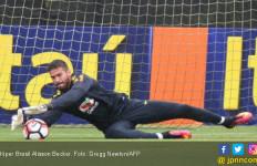 Teka-teki Nasib Kiper Brasil Jelang Piala Dunia 2018 - JPNN.com