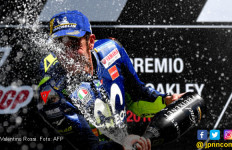 Catat Rekor Hebat, Rossi Dekati Marquez di Klasemen MotoGP - JPNN.com