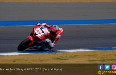 Cedera Tak Lemahkan Pembalap Indonesia Finis di ARRC 2018 - JPNN.com
