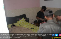 Pasangan Mesum Kena Razia, Si Cewek Tanpa Busana, Ada Kondom - JPNN.com