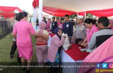 Warga Lembang Serbu Bazar Murah Sespim Polri - JPNN.com