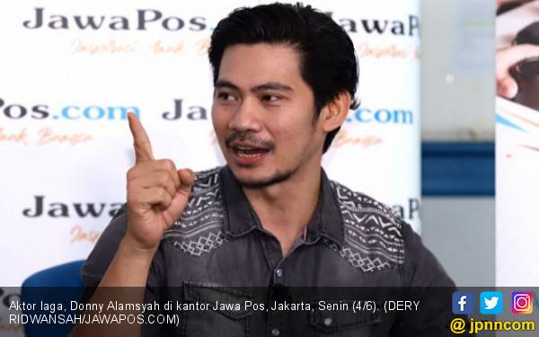 Donny Alamsyah Pengin Jadi Superhero - JPNN.com