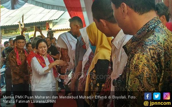 Menteri yang Pertama Datang, Mbak Puan Bawa Banyak Bantuan - JPNN.com
