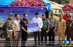 Kanwil Bea Cukai Aceh Hibahkan 25,4 Ton Bawang Merah - JPNN.com