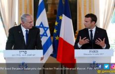Jauh-Jauh ke Prancis, Netanyahu Cuma Dapat Kecaman - JPNN.com
