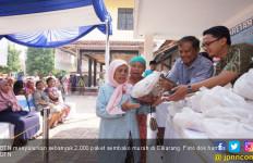 BTN Salurkan 2 Ribu Paket Sembako Murah di Cikarang - JPNN.com