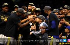 Sapu Bersih Cavaliers, Golden State Warriors Juara NBA 2018 - JPNN.com